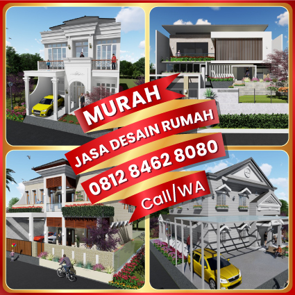 0812 8462 8080 Call/WA Jasa Gambar Rumah 2 Lantai